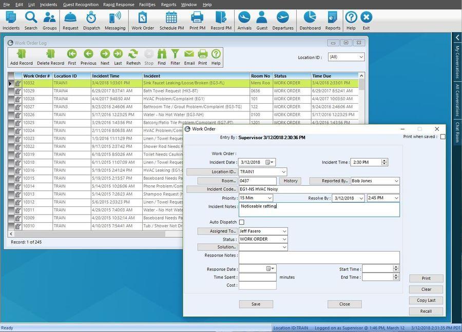 Hotel Preventive Maintenance Software - Guestware