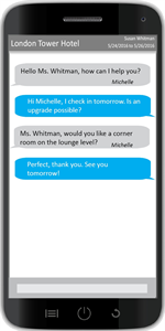 Guestware Mobile Chat